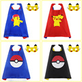 3-8 Y.O SPECIAL 70*70 cm Cartoon Cosplay Child Cape And Mask Set New Year Gift Pretend Costumes Anime Recycle Use Toy