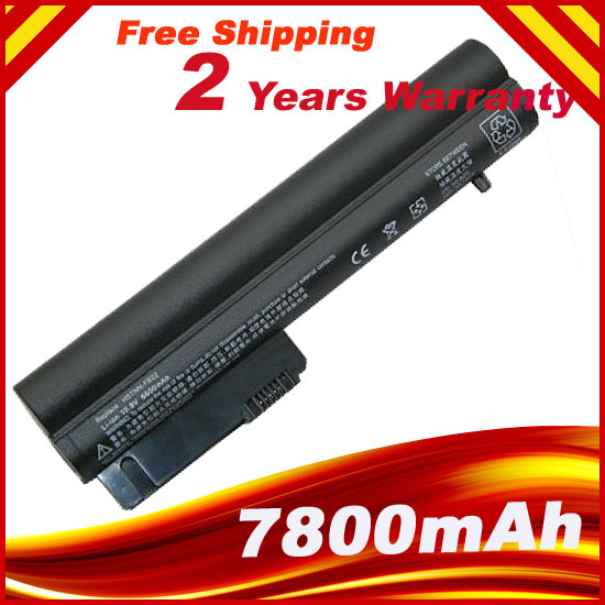 6600mAh 9Cell Laptop Battery For HP EliteBook 2530p 2540p EH767AA HSTNN-C48C 404887-241 EH768AA