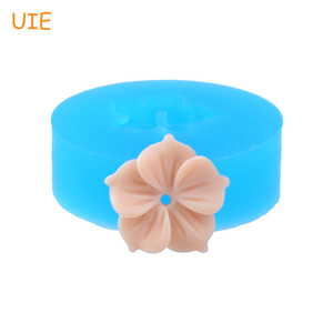 HYL034U 15.6mm Chinese Redbud Hongkong Flower Silicone Mold - Fondant Jewelry Making, Gum Paste, Icing, Resin Fimo Clay, Candy(China)
