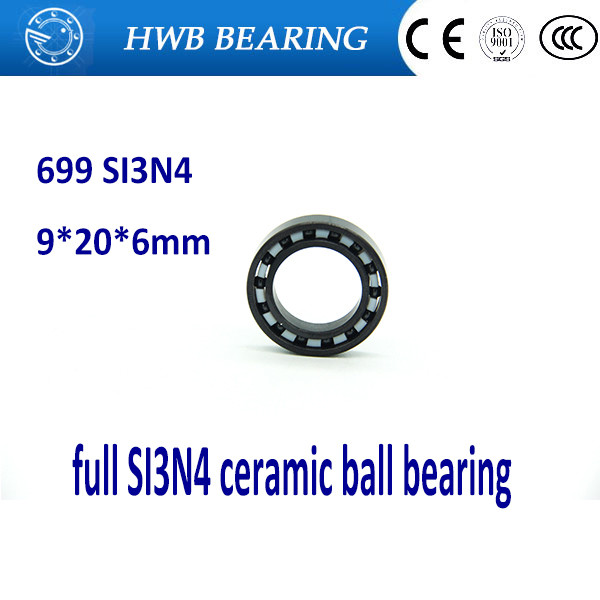 Free shipping 699 full SI3N4 ceramic deep groove ball bearing 9x20x6mm for bike part эксмо 978 5 699 68891 3