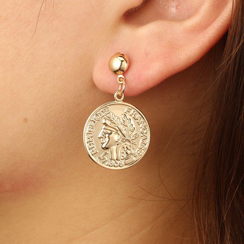 docona-Trendy-Gold-Color-Letter-Avatar-Drop-Dangle-Earrings-for-Women-Girl-Metal-Geometric-Pendant-Earring