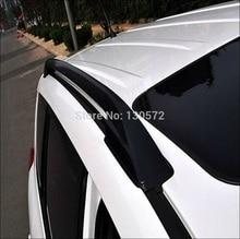 2006-2012 Toyo + ta Rav4 Rav 4 Car Roof Rack Rails Bares negro 2006 2007 2008 2009 2010 2011 2012 de alta velocidad 7