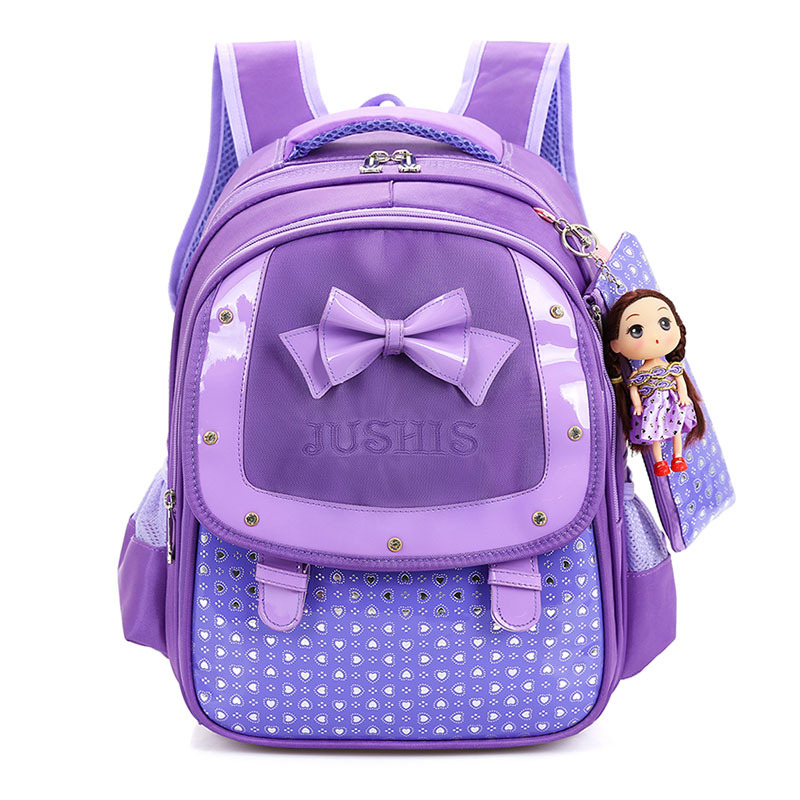 4 Colors Girls font b Backpacks b font font b Kids b font Satchel School Bags