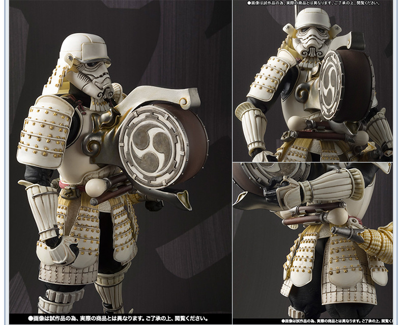 Star Wars Taiko Yaku Stormtrooper 1/8 scale painted Variant Stormtrooper PVC Action Figure Collectible Model Toy 17cm KT3256 crazy toys variant 1 6 scale painted figure x men real clothes ver variable doll pvc action figures collectible model toy 30cm