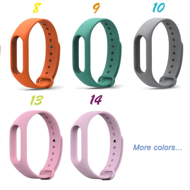 Mi Band 2 Strap For Xiaomi Replacement wrist strap Colorful Wristband Bracelet Smart  Accessory good quality accessories