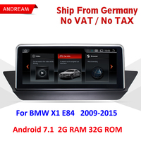 Android 7.1 GPS Navigation 10.25 Quad Core Multimedia Player For BMW X1 E84 Wifi Steering Wheel ID6 Interface EW970BWCIC AB