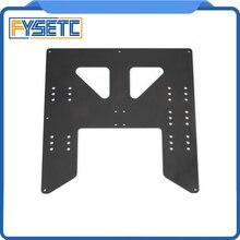Siyah Yükseltme Y Arabası Anodize Alüminyum Plaka Için A8 Yatağı Destek Prusa Için I3 Anet A8 3D Yazıcılar
