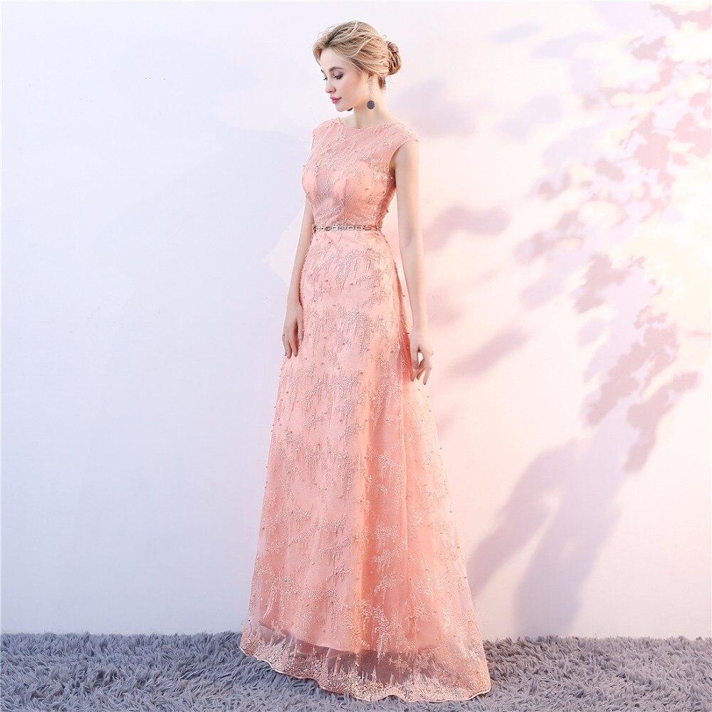 Avondjurken Lange Plus Size Tule kant Prom Feestjurk Vestido De Candy - Jurken voor bijzondere gelegenheden - Foto 4