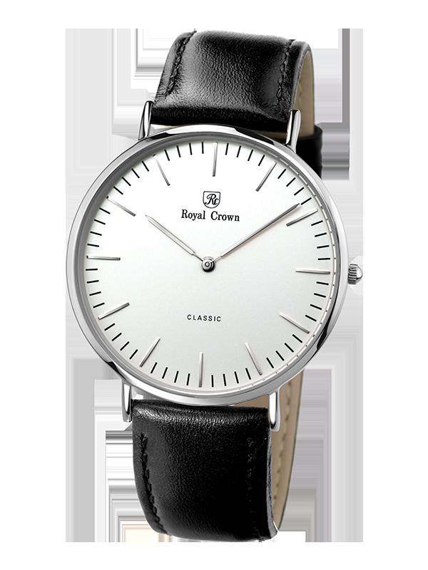 Royal Crown Bauhaus watch 7601M Italy brand Diamond Japan MIYOTA neutral Bauhaus design Ultra-thin Casual Men Wristwatch bauhaus