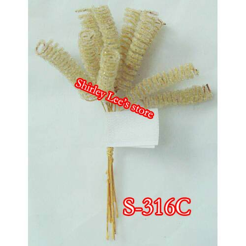 Wholesale 172 bunches 1720pcs iced mini curly picks craft for Wholesale craft supplies in bulk