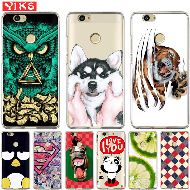 Luxury owl Husky Case For <font><b>Huawei</b></font> Nova 2 plus Nova 3E Cover For <font><b>Huawei</b></font> Y3 Y5 <font><b>Y6</b></font> II 2 Y3 Y7 <font><b>2017</b></font> <font><b>Y6</b></font> Pro Phone Back Cover Coque image