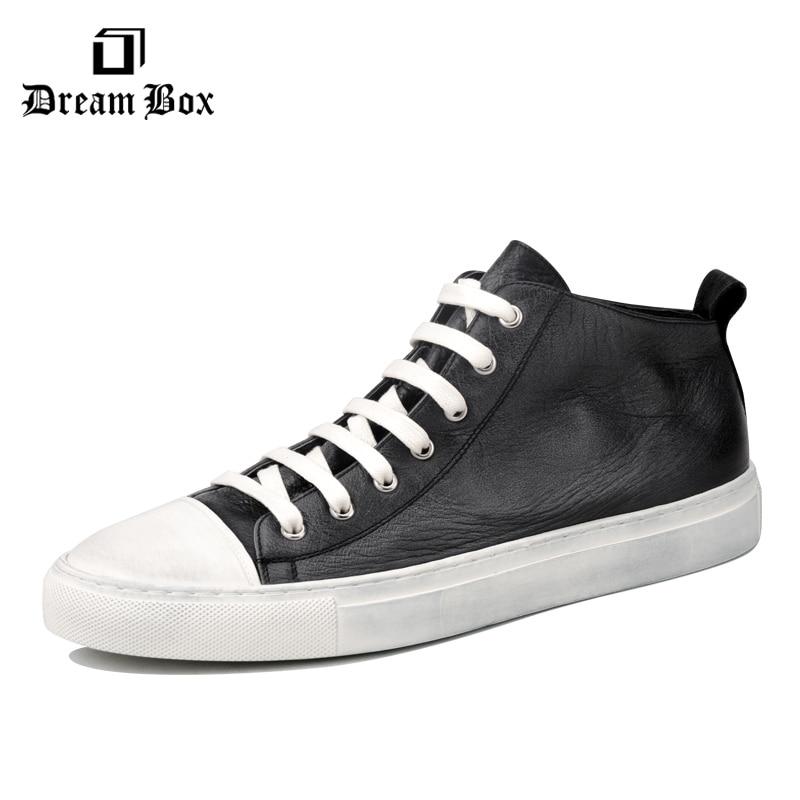 skate board shoes მამაკაცის მამაკაცის ყოველდღიური ფეხსაცმელი ტყავის ნამდვილი კომფორტული მოდის 2019 წლის გაზაფხული ზაფხული sneakers მამაკაცები