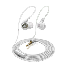 лучшая цена Original Bass Earphone In-ear With Control Speaker Wired 3.5mm Headset With Mic Ear hook Sport Running Earphones For Smartphones