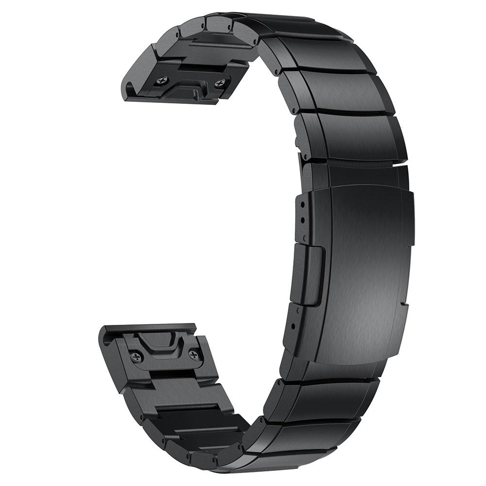 New Arrival Stainless Steel Smartwatch Band Bracelet Buckle Strap for Garmin Forerunner 935(China)