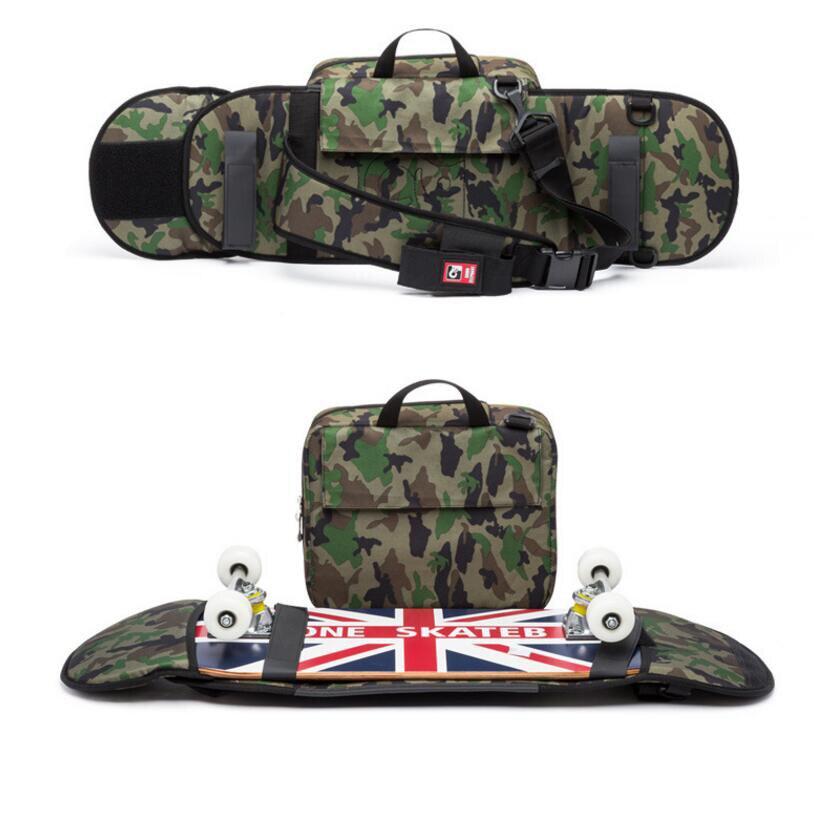 Bolsa de patinaje de 90 * 21 cm / mochila de calidad Fibra de - Rodillos, patinetas y scooters - foto 2