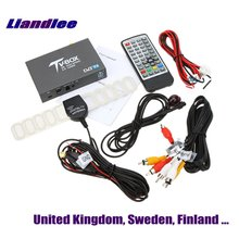 Liandlee UK, Sweden, Finland Car Digital TV Receiver Host DVB-T2 Mobile HD TV Turner Box Antenna High Speed / Model DVB-T2-T337 liandlee for russia dvb t2 car digital tv receiver host mobile hd tv turner box antenna rca hdmi high speed model dvb t2 t337