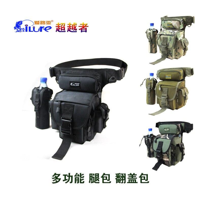 ФОТО ILures waist pack fishing bag 22*12*29cm 416g beach bag Waterproof Fishing Equipment iscas artificiais 2016 free shipping
