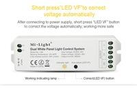 DC42V 45V eingang LS3 Dual Weißen Panel Licht Controller DC30V 40V ausgang 900MA Helligkeit Farbe temperatur anpassung führte Dimmer|RGB-Controller|Licht & Beleuchtung -