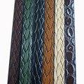 10mm Cuerda de Cuero Plana Espeleología Bolo Cordón De Cuero Trenzado Pulsera Collar DIY de La Joyería Artesanal Making 1.1 metros