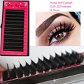 3d Eyelashes false eyelash silk individual black lashes extension professional grafting all size B/C/D Curl