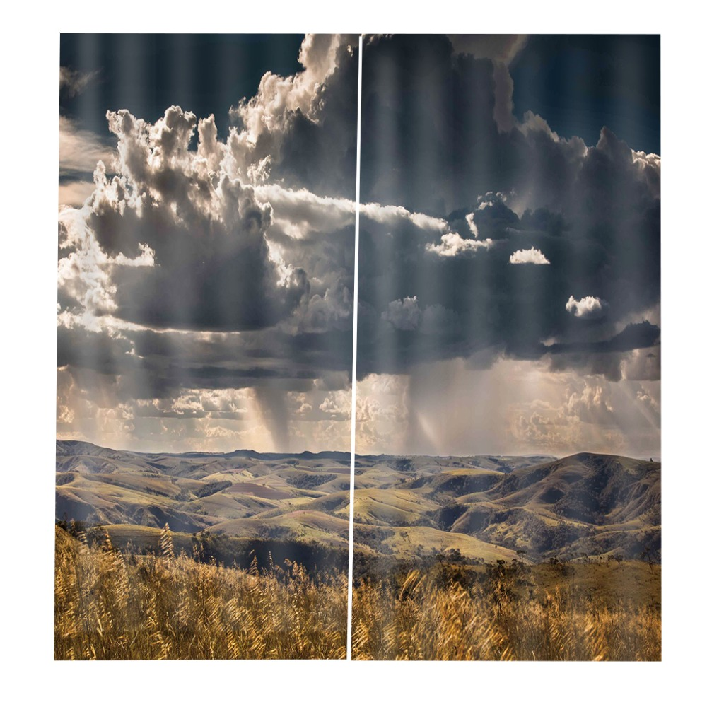 Hot Summer Customize 3d Curtains For Bedroom Window Decoration Modern Pattern Window Photo Curtains 3d Living Room