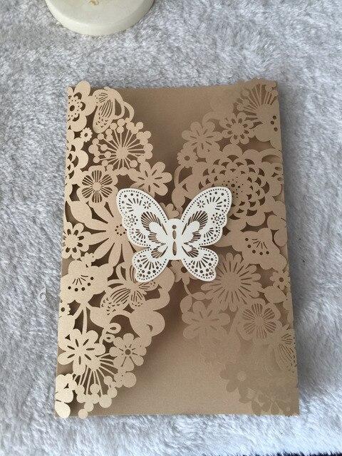 Inc168 Schone Hochzeitskarten 50 Satze Los Laser Cut Handgemachte