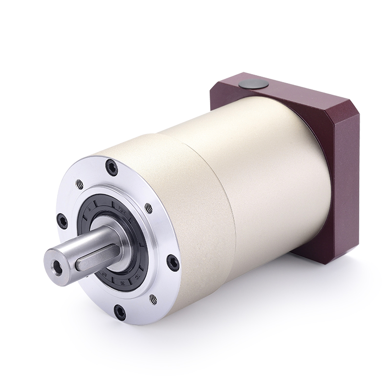 80 round flange Spur gear planetary reducer gearbox 12 arcmin 15:1 to 100:1 for 750w 1000w 86 AC servo motor input shaft 16mm