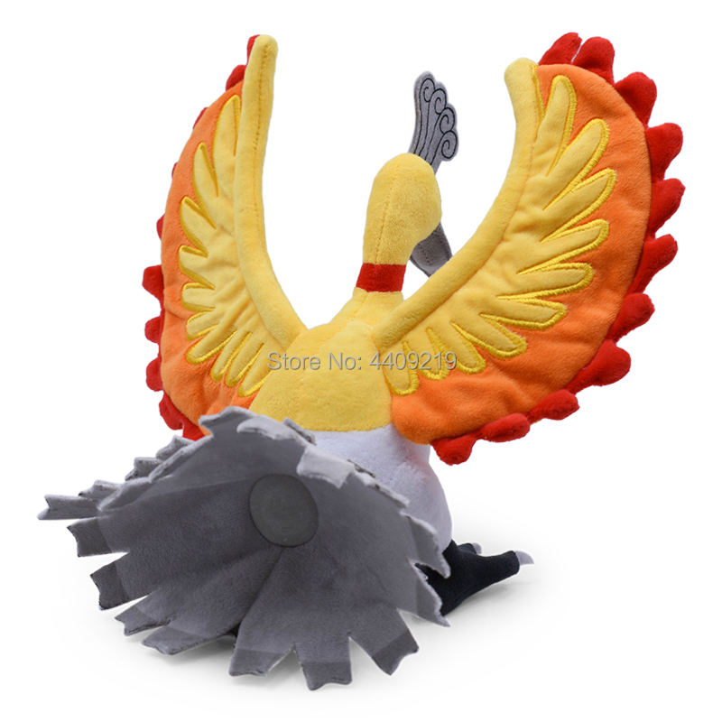 24CM Phoenix Ho Oh Plush Toy oft Stuffed Doll Great Gift For Birthday Collect in Movies TV from Toys Hobbies