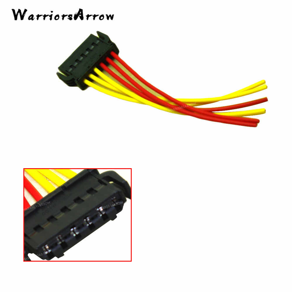 WarriorsArrow Rear Tail Light Lamp Wiring Harness Plug For Audi A6 A8 1994-2016 A4 S4 For VW Beetle Golf Cabriolet CC 893971636