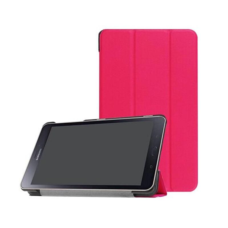 Para Samsung Galaxy Tab A 8,0 2017 A2S T380 T385 SM-T385 SM-T380 Tablet caso soporte Flip cubierta de cuero