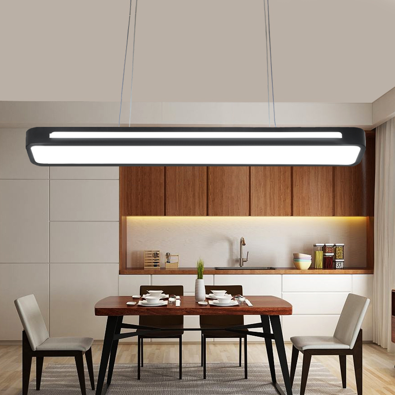 Modern Led Pendant Lights For Bedroom Balcony Dining Room Bar Home Black Deco Hanging Pendant Lamp Fixtures edison inustrial loft vintage amber glass basin pendant lights lamp for cafe bar hall bedroom club dining room droplight decor