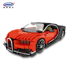 XINGBAO 03009 859PCS Creative TECHNIC MOC Car Bricks Series  Gallon Supercar Set Building Blocks Compatible Legoings Technic Car цена в Москве и Питере