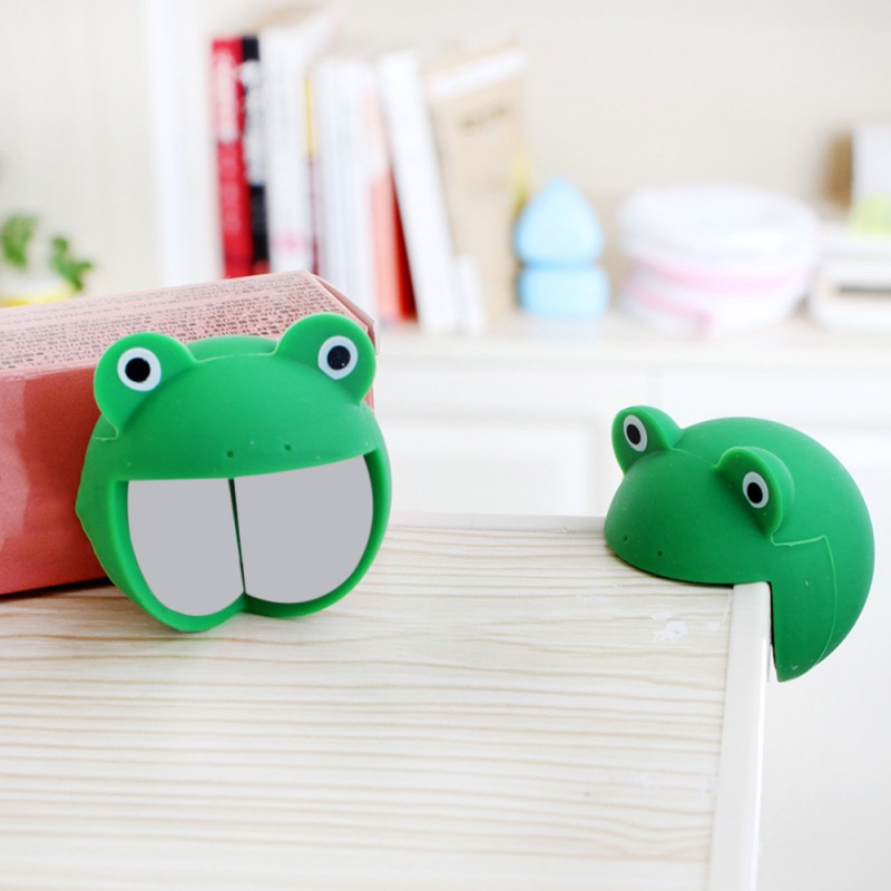 Baby Proof Table Corner Safety Bumpers Furniture Corner Protectors Guards Animal Silicone 13