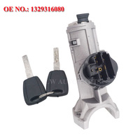 Ignition Switch For Fiat Ducato Citroen Jumper for Peugeot Boxer 2002 2006 Ignition Lock Barrel 4162AL 1329316080