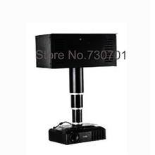 Traces ceiling projector electric pylons in the bamboo tube motorized projector mount 1-4m running distance Bulb lifter