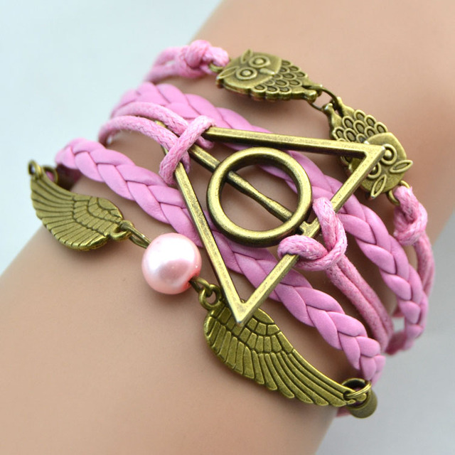 Harry Potter Deathly Hallows Bracelet (10 colors)