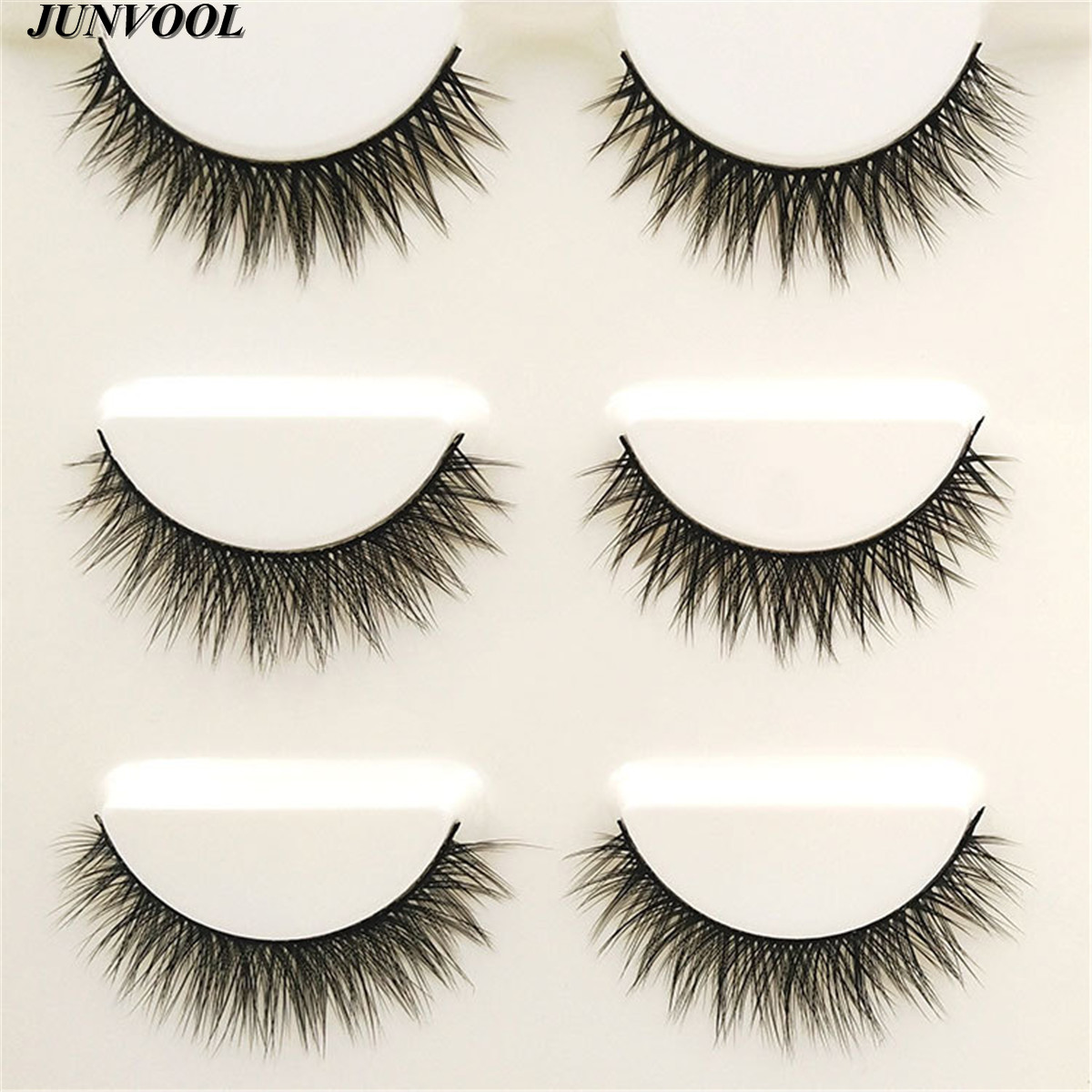 Ekstensi bulu mata, 15 Pairs buatan tangan 3D Mink rambut, Kecantikan - Riasan - Foto 5