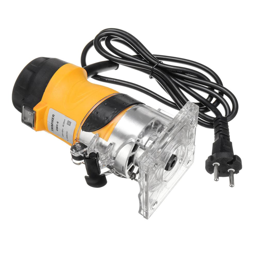 ALLSOME 110V/220V Woodworking Electric Trimmer Used as Wood Carving Machine 2