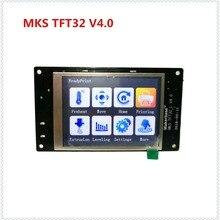 MKS TFT32 V4.0 dokunmatik ekran sıçrama lcd'ler akıllı kontrolör dokunmadan TFT32_L ekran RepRap TFT monitör creen lcd için 3D Y...