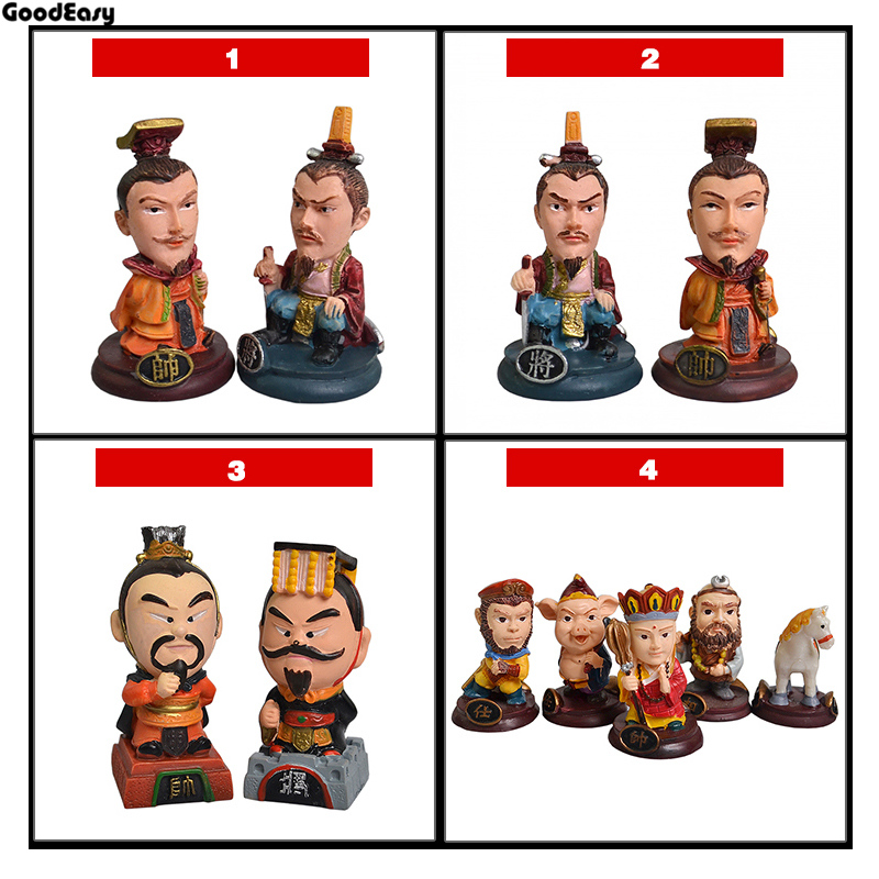 Chinese Chess Folding Chess Board  Chinese chess pieces / parent-child gift with High Quality chinese chess 2 thick double faced laser line bamboo dual board set child 331 1pcs lot