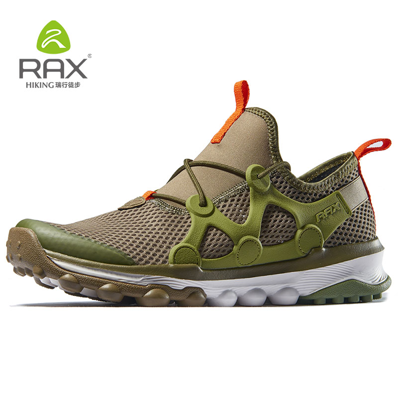 Rax Hiking Shoes For Men Outdoor Trekking Sports Sneakers Breathable Mountain Shoes Breathable Wading Climbling Sneakers Men
