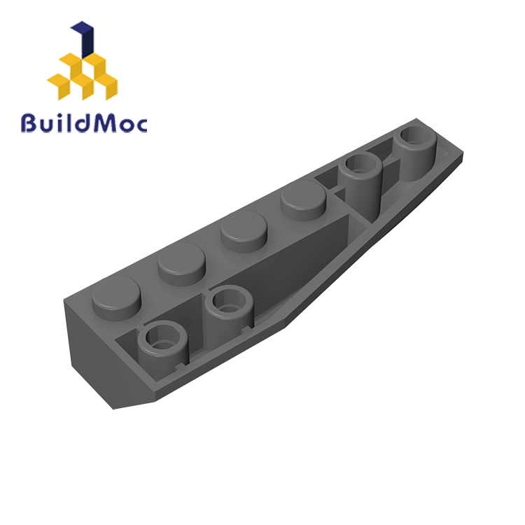 BuildMOC Compatible Assembles Particles 41764 2x6 (Right) For Building Blocks Parts DIY LOGO Educational Gift Toys