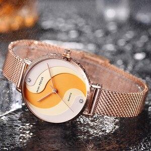 Image 4 - MINIFOCUS Woman Watches 2020 Top Brand Luxury Women Watch Rose gold Quartz Female WristWatch Ladies Clock Girl Relogio Feminino