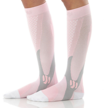 Compression stockings Running basketball football socks Nylon Anti-swelling stretch Outdoor sports compression socks