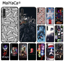 Maiyaca Marvel Superman Racun Perisai Hitam Cell Phone Case untuk Huawei P9 P10 Plus Mate9 Mate10 Lite P20 Pro Honor10 view10(China)