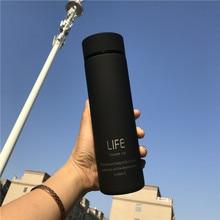 Изолировать чайная кружка-термос с фильтром термо-кружка термос для кофе чая из нержавеющей стали тепловой бутылка термос с крышкой ST086