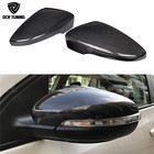 1:1 Replacement Carbon fiber look For Volkswagen VW Golf 7 MK7 R Gti Side Caps & Golf 6 GTI R20 mirror cover & for VW CC Passat