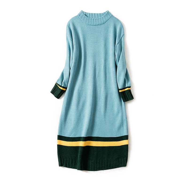 где купить 2017 autumn maternity women knit a line dress tops oversize pregnancy pullovers clothes for pregnant women дешево