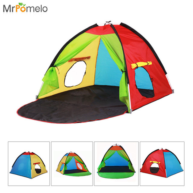 Mrpomelo Children Pop Up Play Tent Indoor Outdoor Beach Sun Shelter 2 Kids