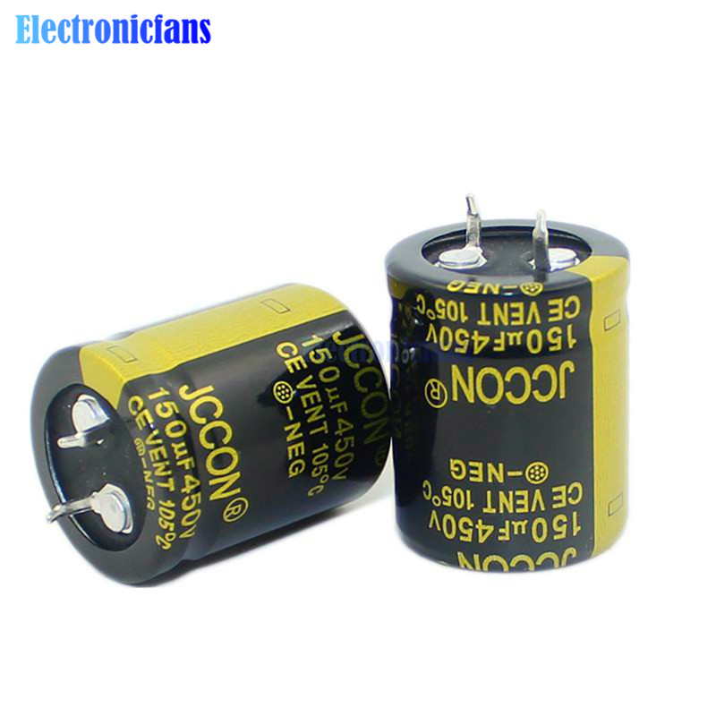 <font><b>450V</b></font> <font><b>150uF</b></font> 25X30mm High Frequency Low ESR Aluminum Electrolytic <font><b>Capacitor</b></font> 450V150uF 25*30mm Through Hole <font><b>Capacitor</b></font> image